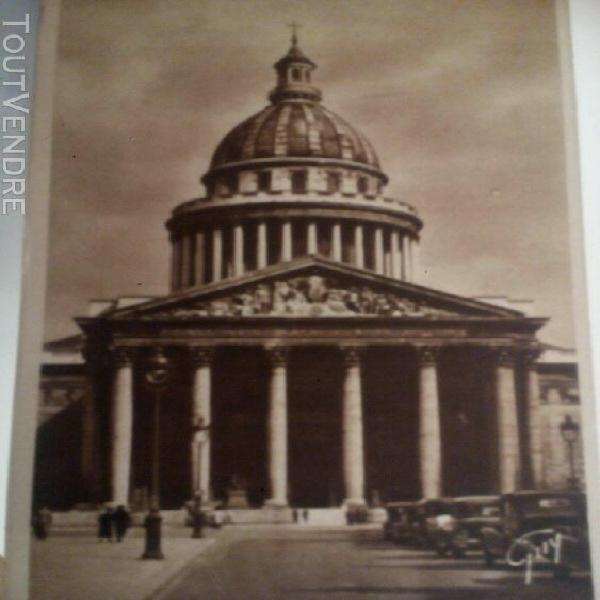 carnet de cartes postales anciennes de paris