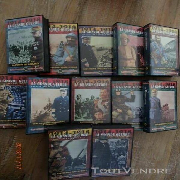 cassettes vhs video guerre 14 18