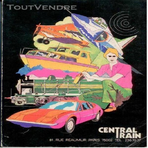 catalogue central train + tarifs 1978