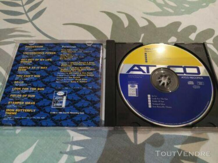Cd d'iron butterfly - heavy (with/without case) 1993 atco re