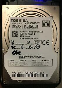 Disque dur 2,5'' toshiba mk2561gsyn - 320 go sata