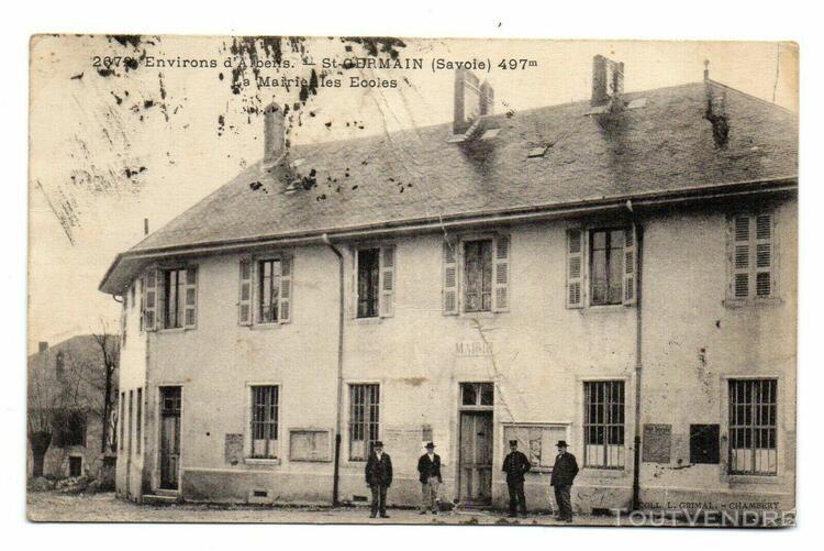 environs d'albens - st germain (savoie) - la mairie, les éc