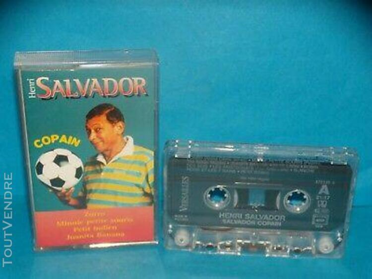 Henri salvador - copain - 1995 - k7 / tape