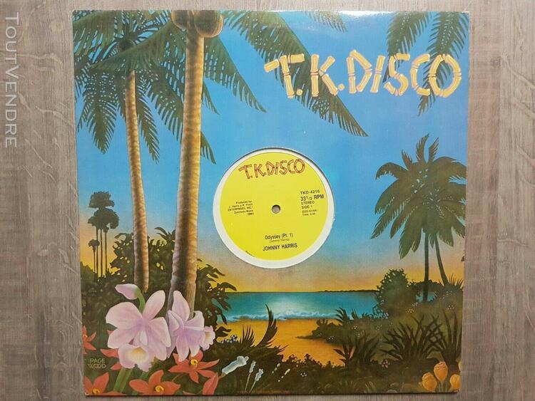 Johnny harris  - odyssey par t 1 & 2 t.k. disco