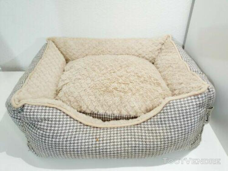 Lit pour chien chat animaux doux panier corbeille couchage