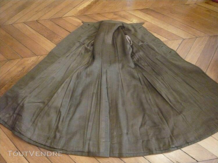 manteau capote ww2 pour officier de cavalerie modele 1932 fr