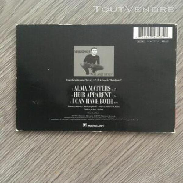 Morrissey alma matters cd single 1997