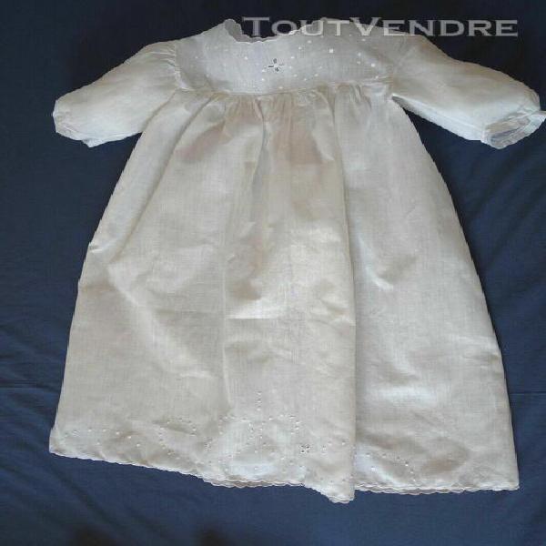 robe bébé de baptême / cérémonie
