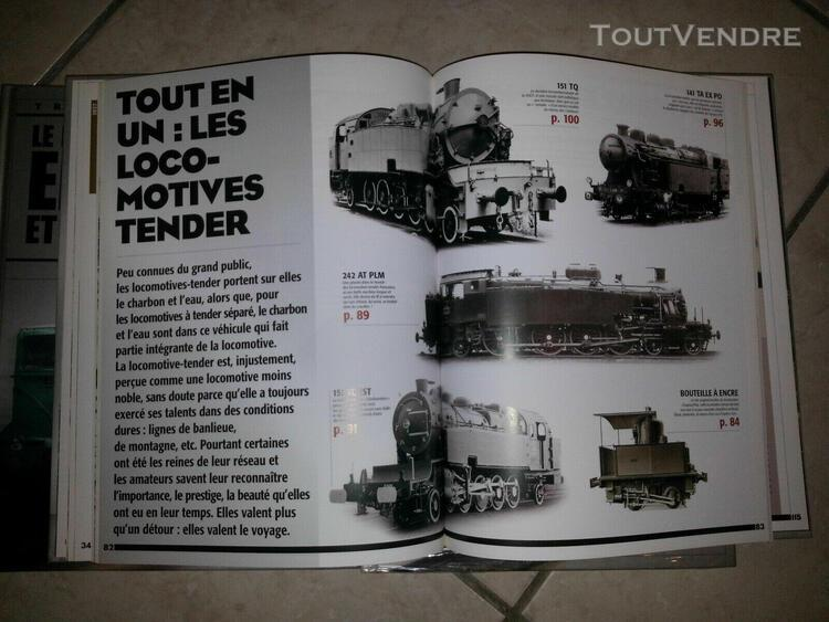 trains de legende 3 volumes tbe atlas