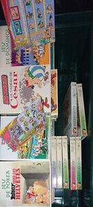 45 jeux astérix collection complète + pin's atlas