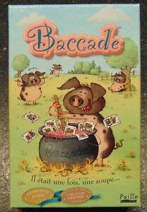 Baccade - paille éditions - jeu de cartes neuf à partir de