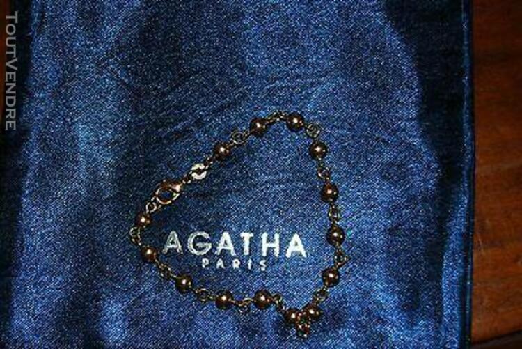 Bracelet agatha maille boule