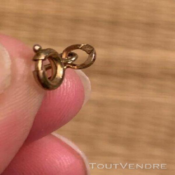 Bracelet chaine mailles cheval plaqué or