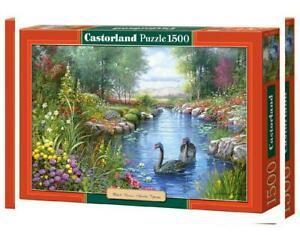 Castorland puzzle cygnes noirs andres orpinas 1500 pièces