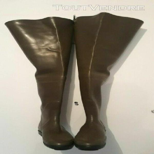 Cuissarde de peche caoutchouc aigle rubber hip boots bottes