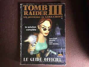 Guide officiel tomb raider iii / tomb raider 3 bon état