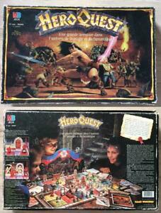 Hero quest mb games workshop 1989 donjons et dragons