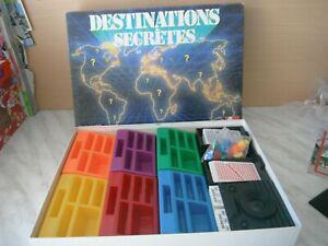 Jeu de societe destinations secretes nathan 1988 neuf