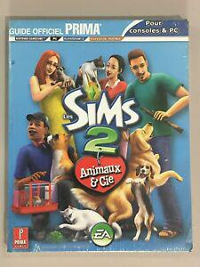 Les sims 2 animaux & cie guide officiel consoles & pc neuf