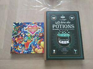 Lot 2 livres (livre des potions + nos meilleurs souvenirs