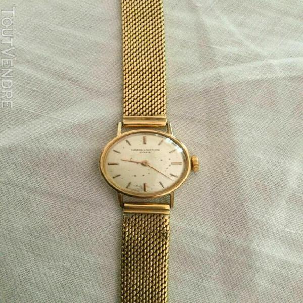 Magnifique montre ancienne vintage vacheron constantin or ro
