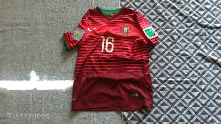 Maillot foot portugal coupe du monde 2014 meireles ancien sh