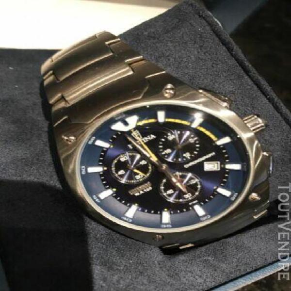 Montre festina chronographe wr 100 titanium cadeau noel aci