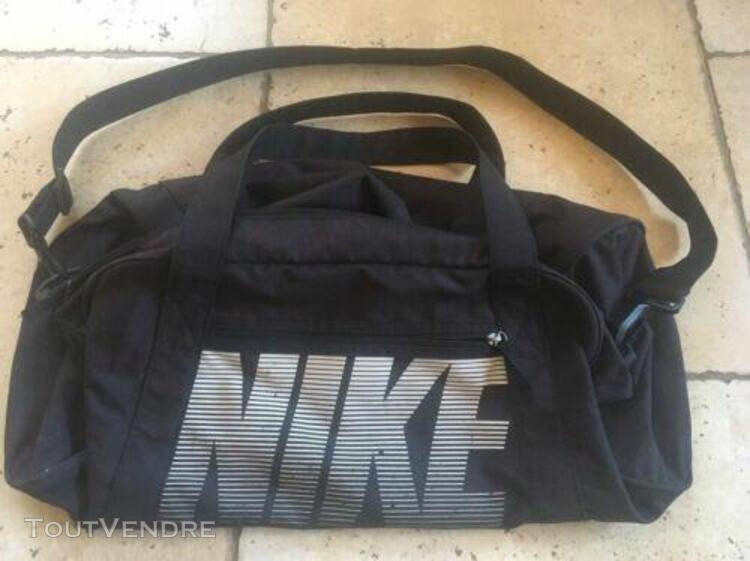 Nike sac de sport training (moyenne) mixte, gris silex noir