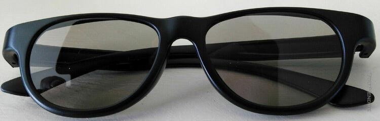 3 paires de lunettes philips 3d non active