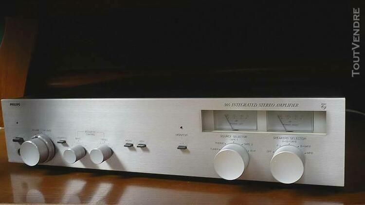 amplificateur vintage radiola 305