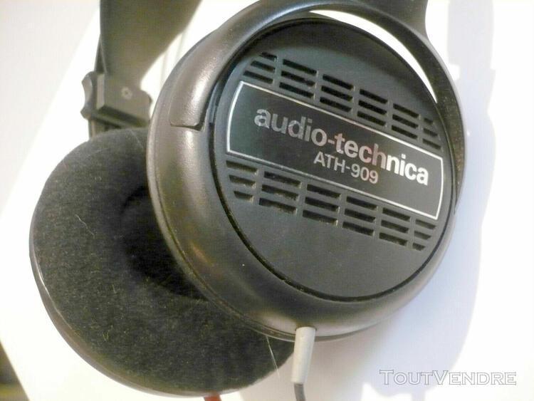 Audio technica ath-909 casque hifi jack 3.5 et 6.35 mm 20-20