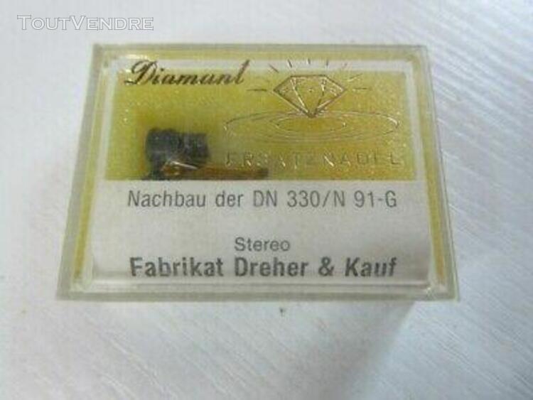 diamant pointe de lecture dn 330/n 91-g dreher & kauf