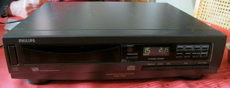 lecteur de cd audio de salon philips cd 164