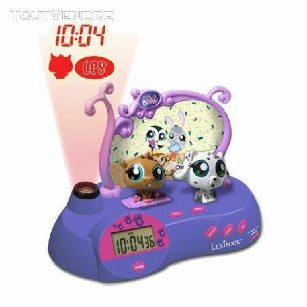 lexibook - rp300lps - réveil projecteur littlest pet shop