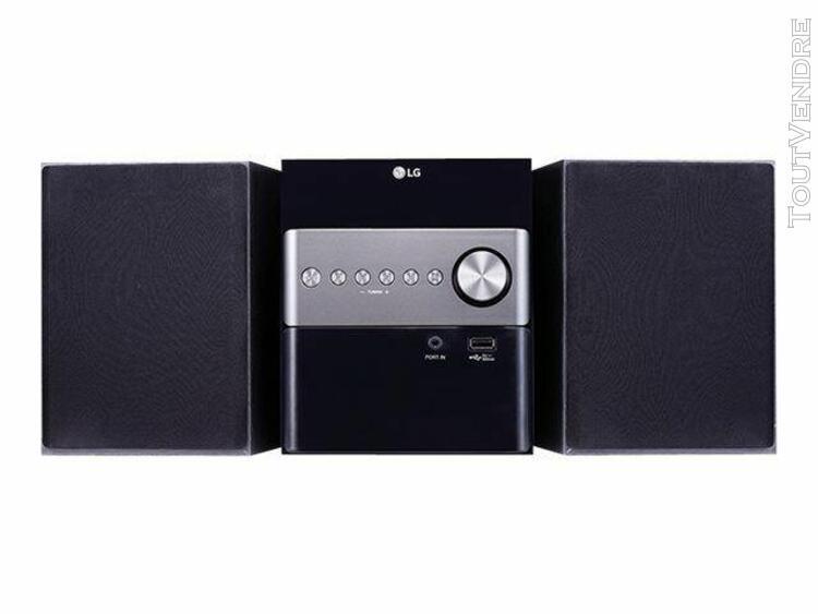 lg cm1560 - micro-système - 10 watt (totale)