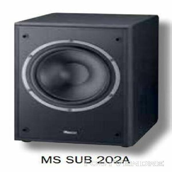 magnat monitor supreme ii sub 202a - enceinte - noir