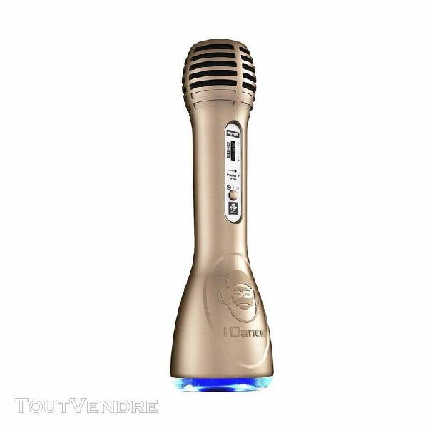 microphone tout en un - bluetooth et karaoke idance