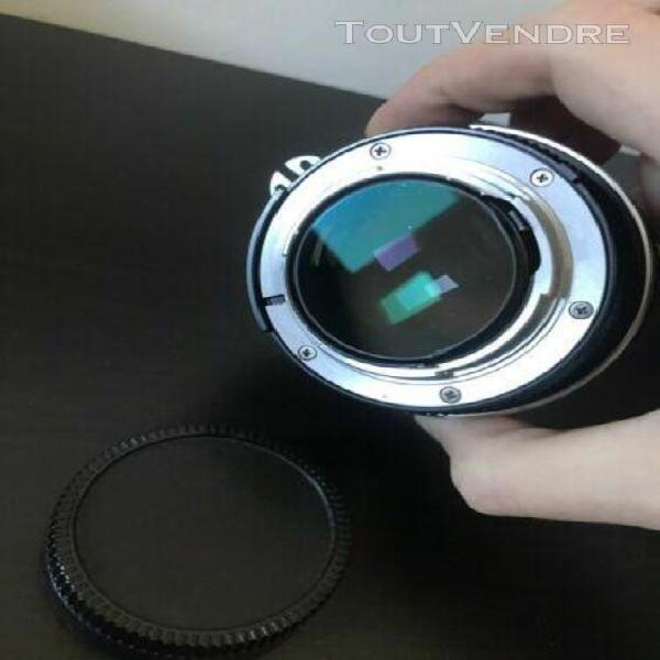 Nikon nikkor 55mm f/1.2 ai converted.