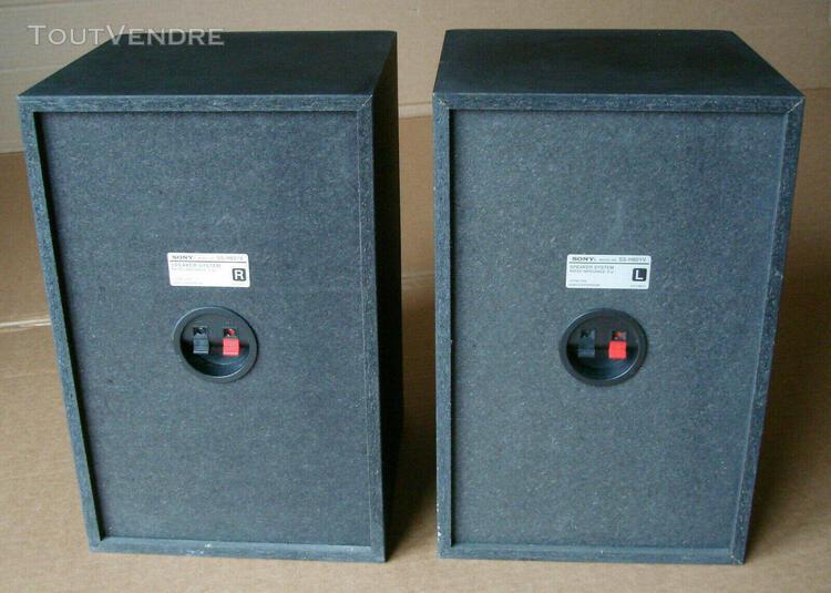 paire d'enceintes sony ss-h801v 3 voies bass reflex hifi min