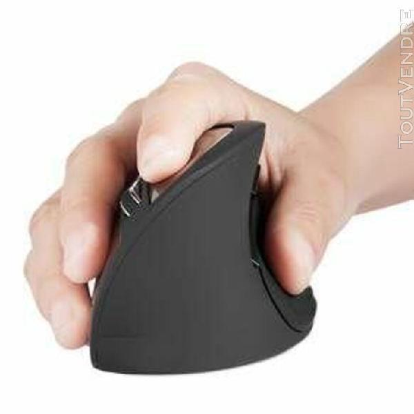 perimice-715 souris sans fil ergonomique verticale 2.4g