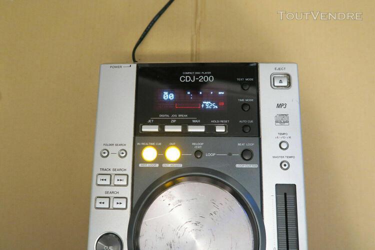 pioneer cdj 200 pour pieces