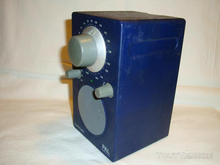 radio portable tivoli audio pal henry kloss am /fm analogiqu