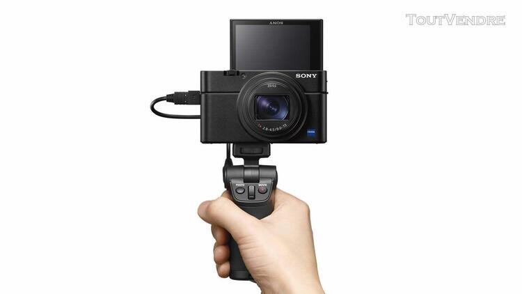 Sony cyber-shot rx100 vii compact 20.1 mpix + vct-sgr1 grip