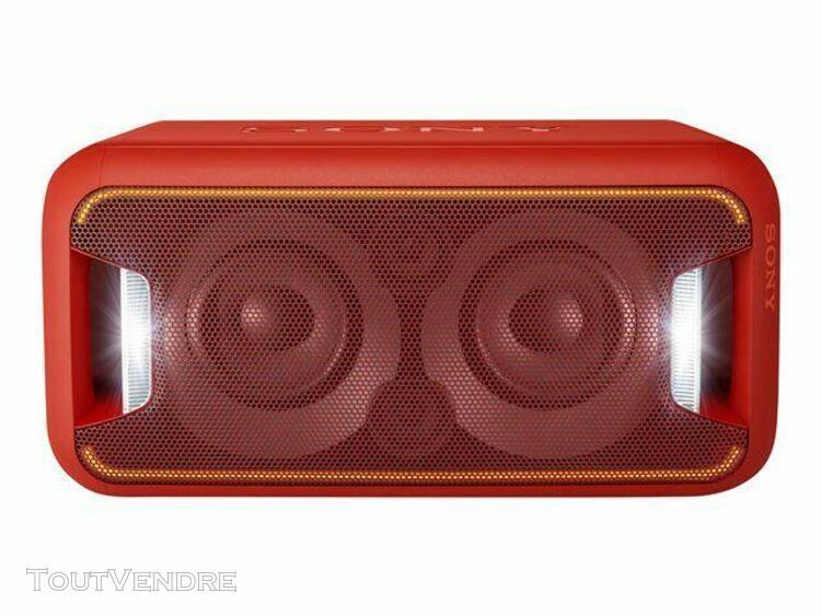sony gtk-xb5 - enceinte sans fil bluetooth - rouge
