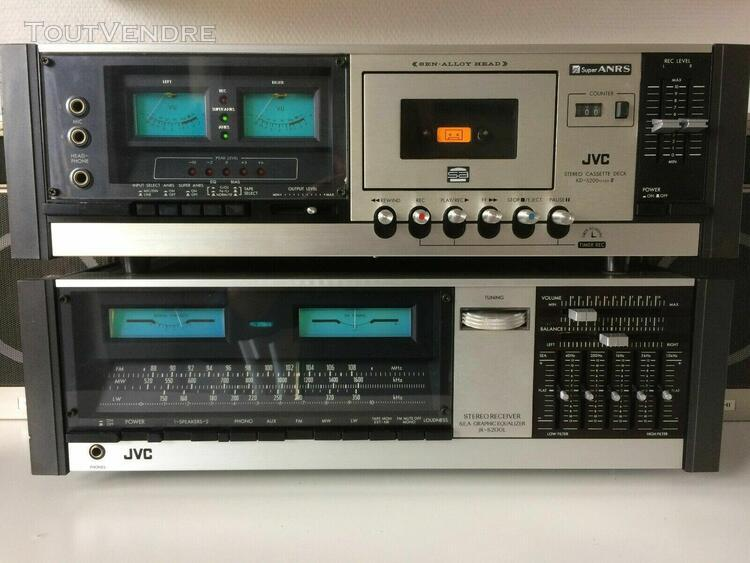 stereo receiver jvc s.e.a. graphic equalizer jr-s200l