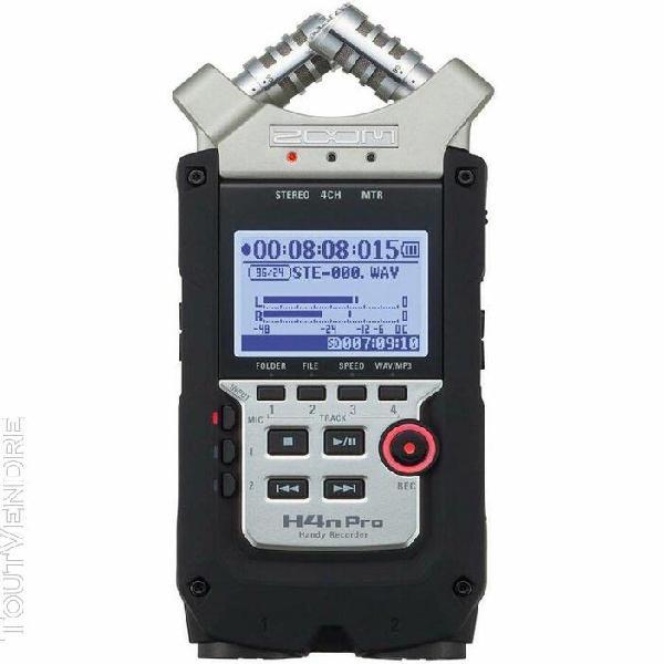Zoom h4npro - enregistreur numérique