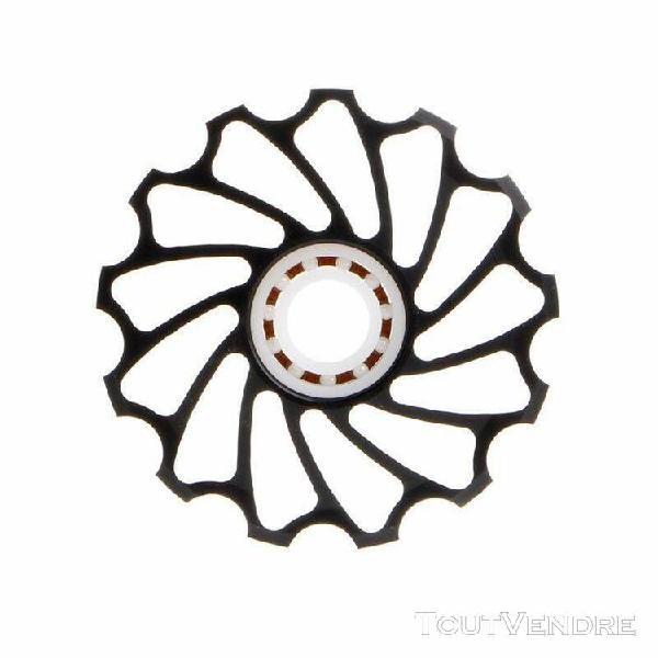 accessoires de vélo 13t vtt en céramique roulement galet