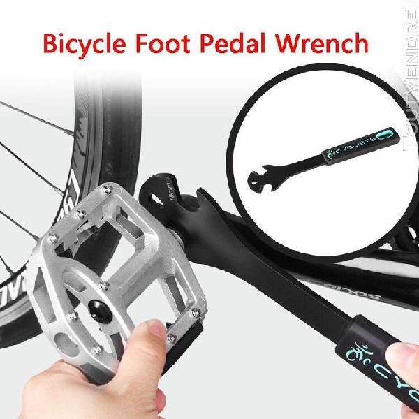 accessoires de vélo vélo pédale vélo spanner outil de
