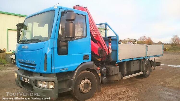 Camion (ptac > 3,5 t) plateau - iveco eurocargo 140e18