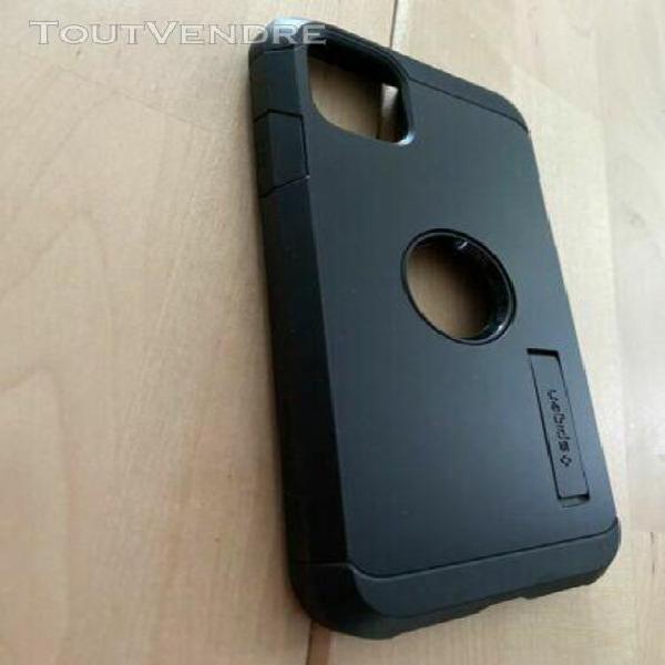 Coque spigen tough armor iphone 11 noire